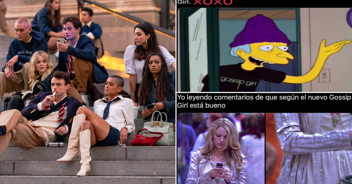 """The best memes left by the premiere of the reboot of """"Gossip Girl"""""""