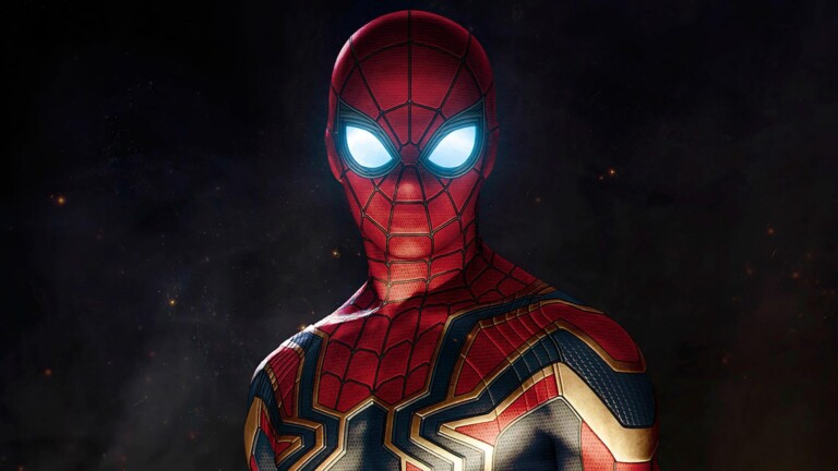 The new suit that Tom Holland will wear in 'Spider-Man: No Way Home' is filtered