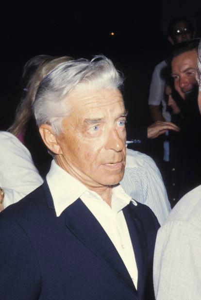 Herbert Von Karajan in Porto Cervo, Italy, in 1981.
