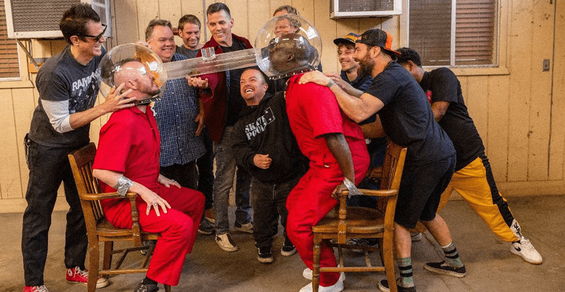 They are back! Check out the first pictures of the new 'Jackass' movie