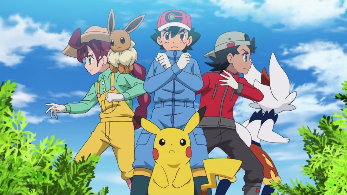 Trailer of Pokemon Master Travels the new season of the