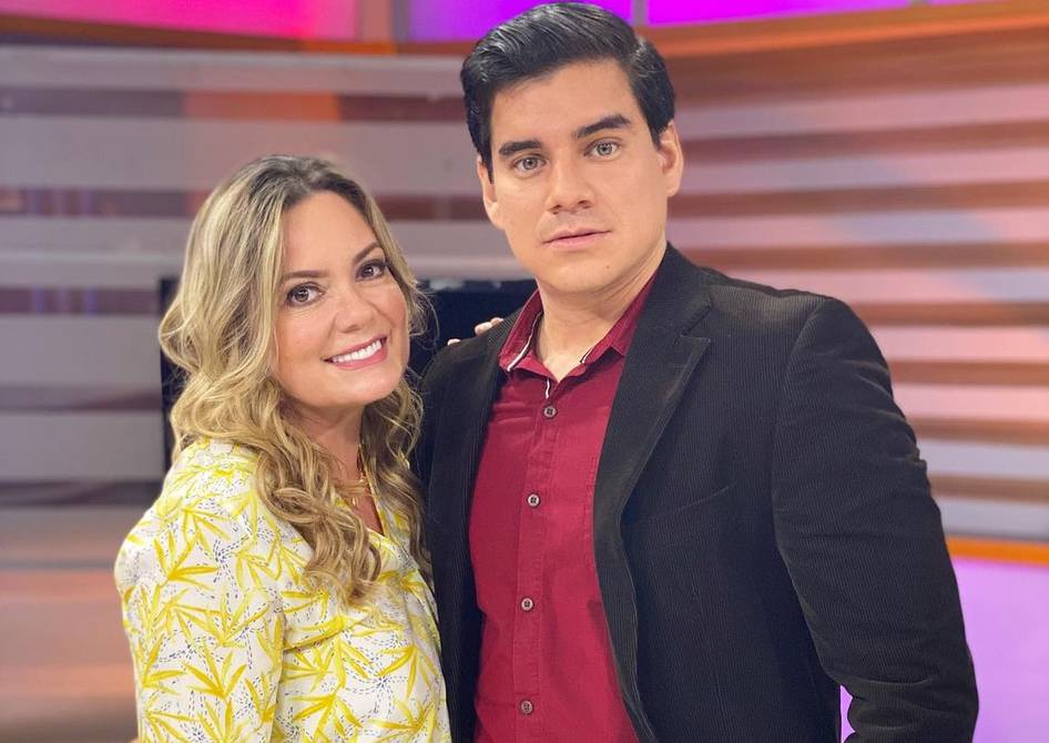 Úrsula Strenge and Isaac Delgado confirm their relationship. The couple spoke on 'Morning News'   People   Entertainment