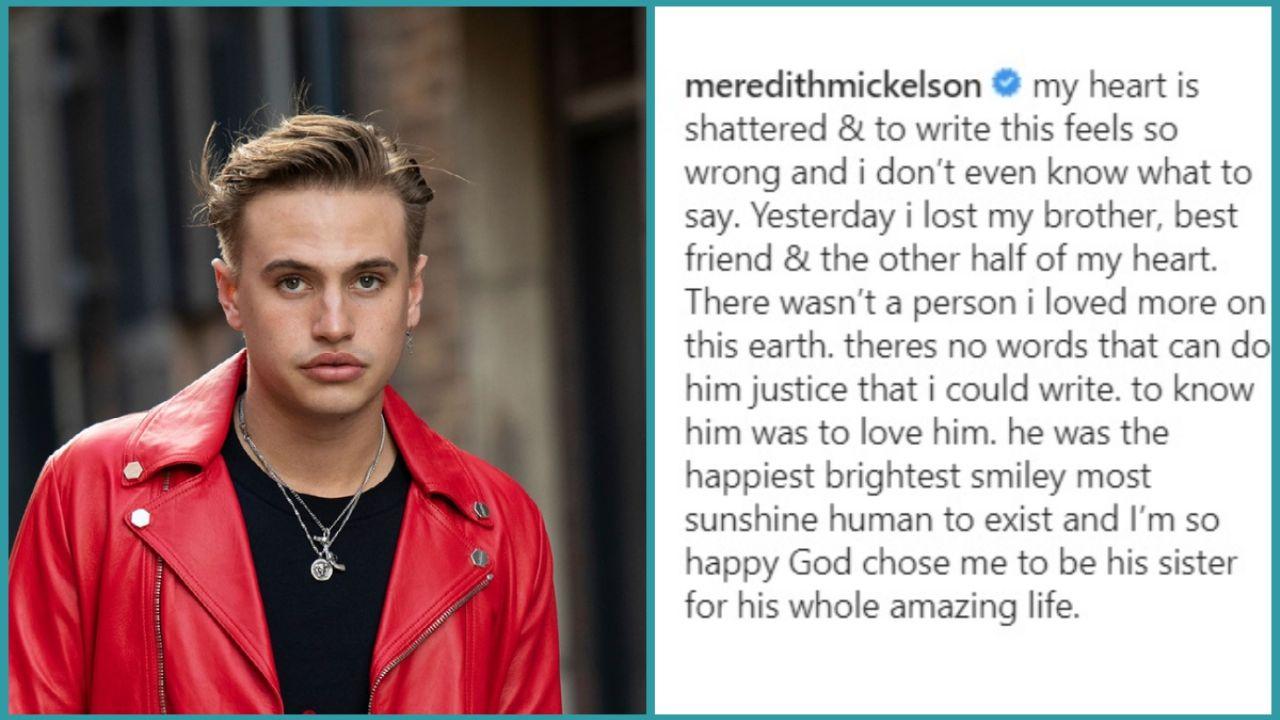 What did Daniel Mickelson die of The heartbreaking goodbye of