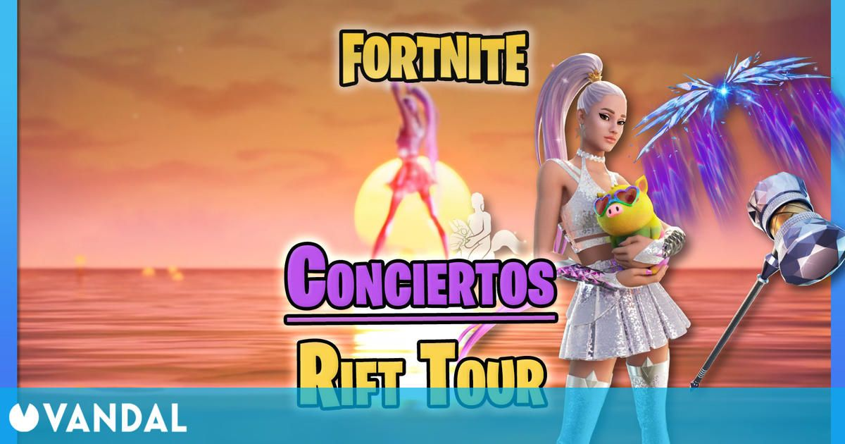 Fortnite: Ariana Grande Concerts on Rift Tour - Dates, Times and How to See Them