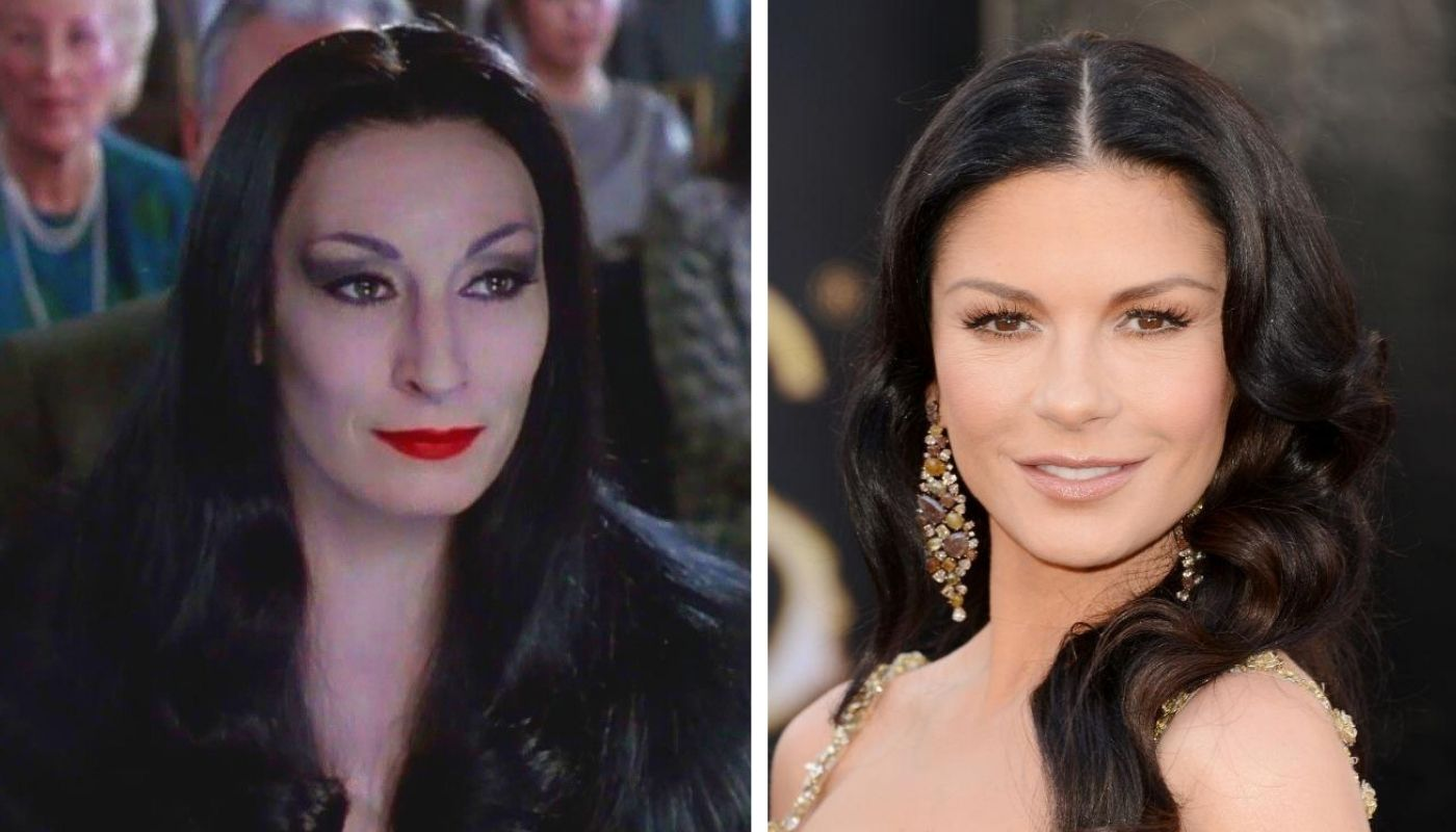 Catherine Zeta-Jones will be Morticia in the new series of 'The Addams': Tim Burton ruled out Christina Ricci