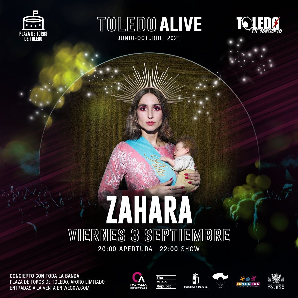 Musicians and politicians support Zahara after the withdrawal of the poster from his concert in Toledo due to pressure from religious and political groups