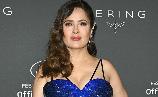 Not even Salma Hayek is saved from suffering the prejudices of age in Hollywood