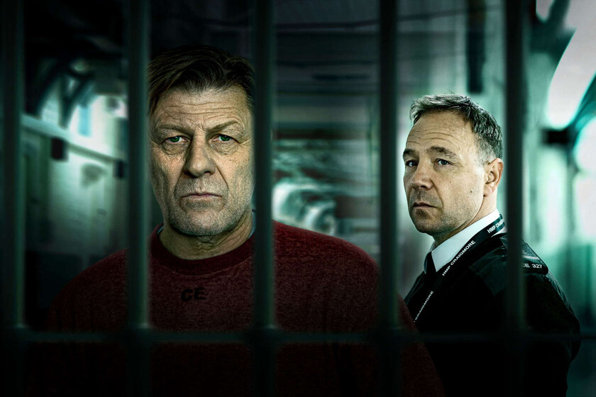 'Condena': a forceful prison drama in Movistar + reinforced by masterful Sean Bean and Stephen Graham