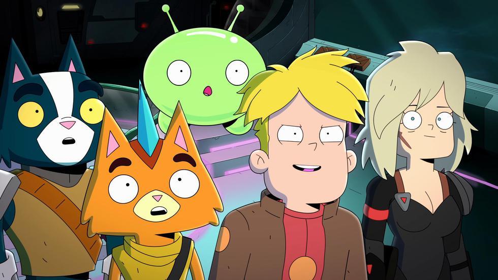 Gary y la tripulación luchan por sobrevivir entre el caos y la masacre de Final Space, además de eludir al malvado Invictus, que busca dominar los poderes de Mooncake.