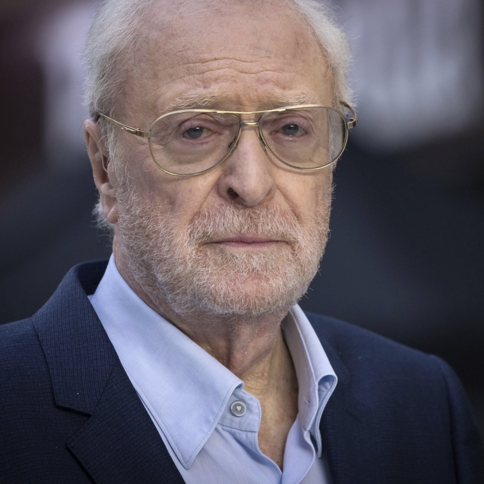 Michael Caine spent 8 years trying not to blink