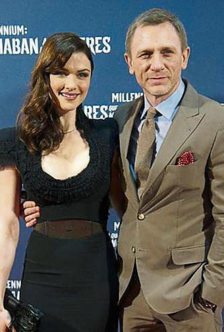 FILE - Rachel Weisz and Daniel Craig Welcome A Baby Girl MADRID, SPAIN - JANUARY 04: British actor Daniel Craig and his wife Rachel Weisz attend