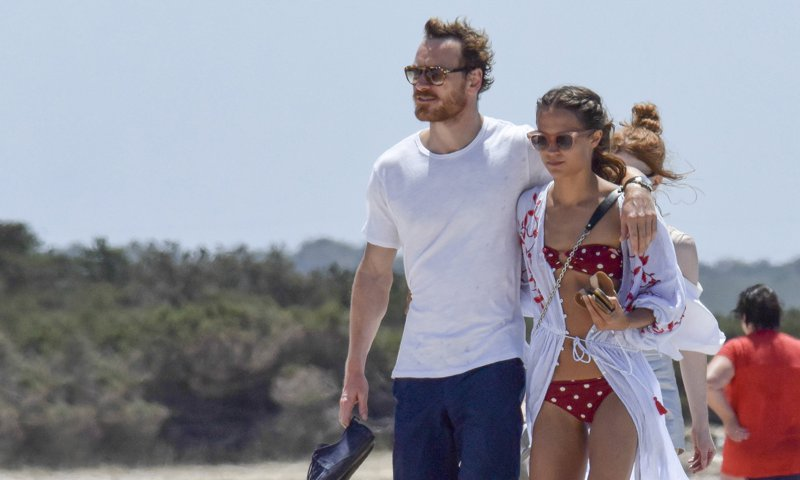 1630194992 Alicia Vikander and Michael Fassbender holidays in Ibiza after a