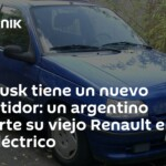 Elon Musk has a new competitor: an Argentine converts his old Renault into an electric car