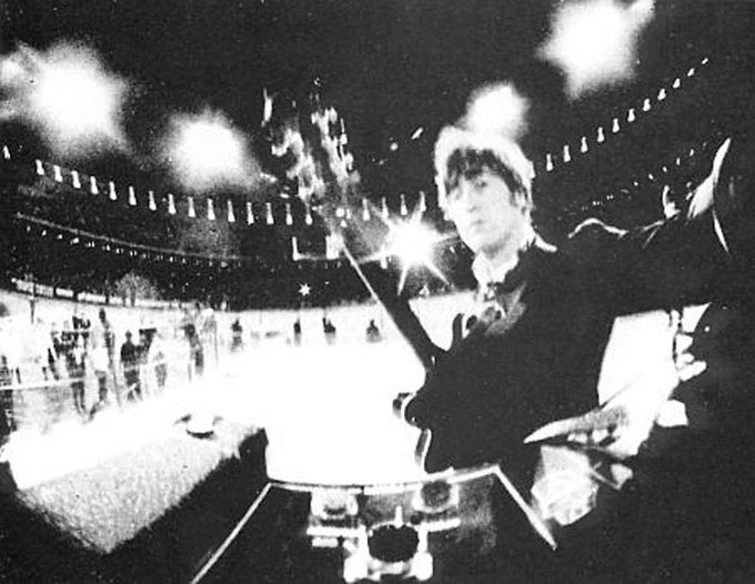 John Lennon 1966 Candlestick Park