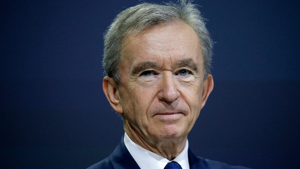 Bernard Arnault, CEO of LVMH. May 25, 2018. Photo: Chesnot / Getty Images.