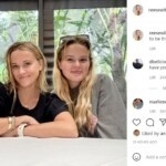 Reese Witherspoon shares the sweet photo with her kids who look just like them and says she's 'lucky'