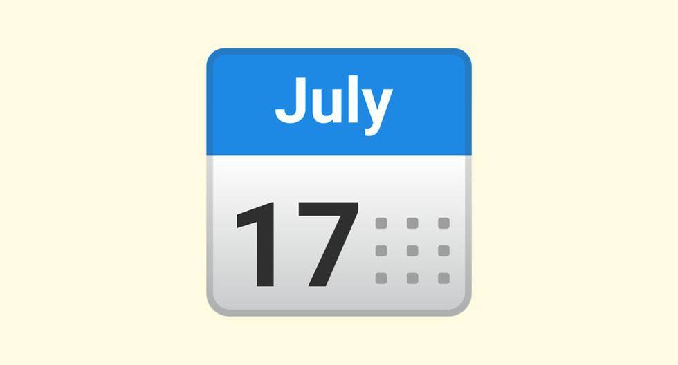 WhatsApp: why the calendar emoji marks July 17