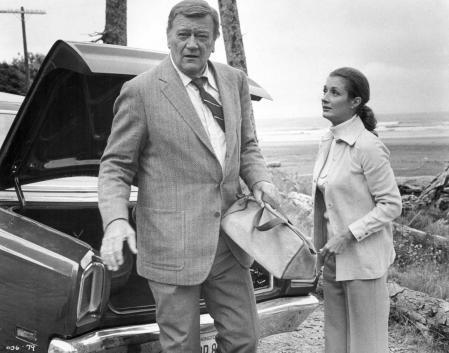 John Wayne in a scene from the movie 'McQ', 1974.