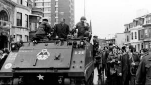 The day John Wayne invaded Harvard on a tank