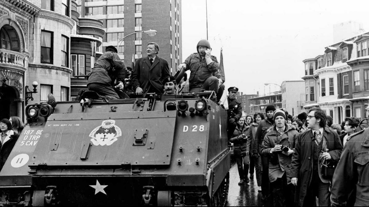 1630311346 The day John Wayne invaded Harvard on a tank