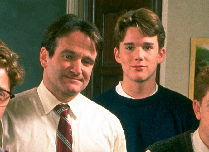 The Robin Williams Lesson Ethan Hawke Realized Over Time