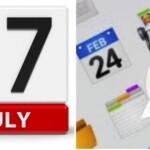 WhatsApp: Why does the calendar emoji mark July 17 and February 24?
