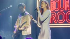 Evan Rachel Wood challenges Marilyn Manson during her last concert