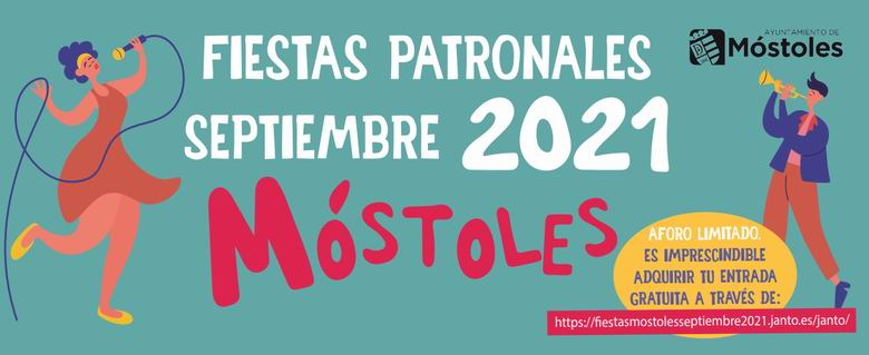 1630397374 Complete program of the Patron Saint Festivities of Mostoles 2021