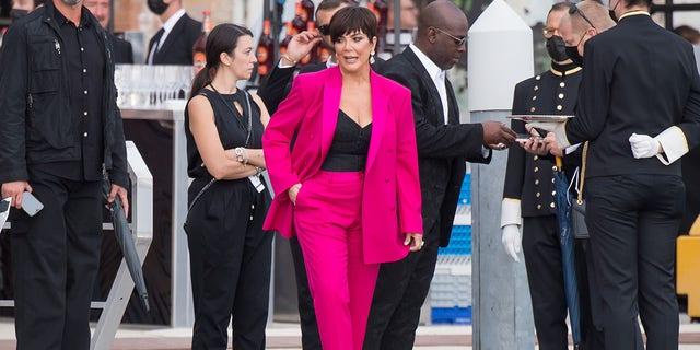 Kris Jenner à Venise.