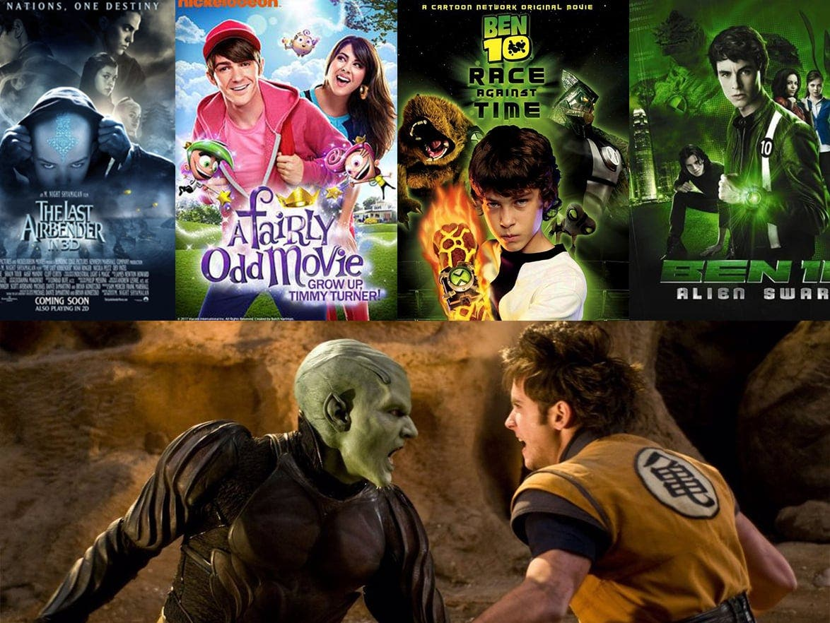 5 live action movies that will be better forgotten