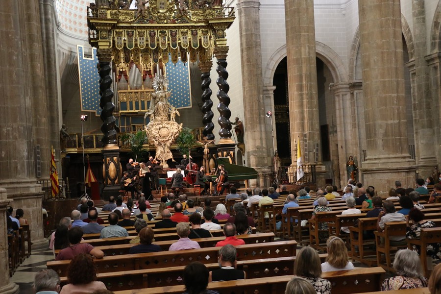 ARAGÓN.-Zaragoza.- The Daroca Ancient Music Festival faces this Tuesday the last performance of its 43rd edition