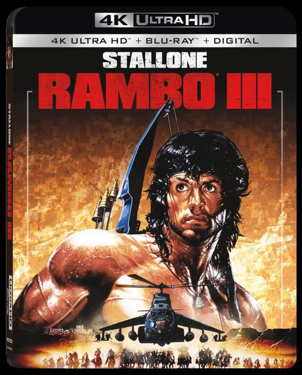 """""""Rambo III"""" It is set in the war that the Afghan militias waged against the Soviet invasion, with the support of the United States. (Photo: IMDB)."""
