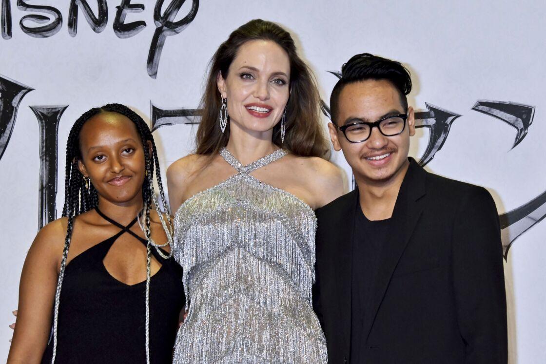 Angelina Jolie her son Maddox victim of child trafficking