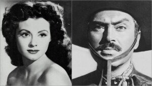 Beautiful actress from the Golden Age fled from Pedro Armendariz, so he planted it at his wedding: VIDEO