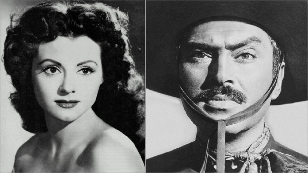 Beautiful actress from the Golden Age fled from Pedro Armendariz