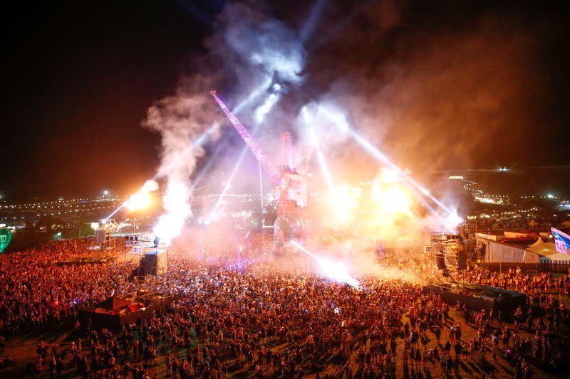 British music festivals gear up for rock despite high COVID 19