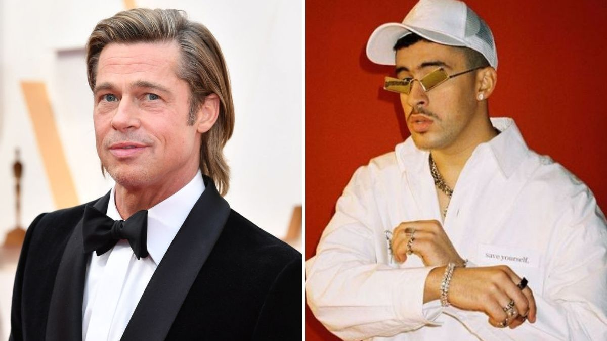 Bullet Train Bad Bunny and Brad Pitt fight aboard a