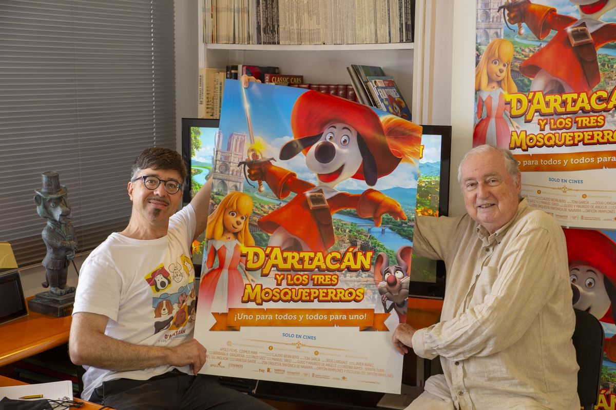 "Children's cinema: ""Hopefully 'Dartacán y los tres mosqueperros' serves to encourage reading in children"""