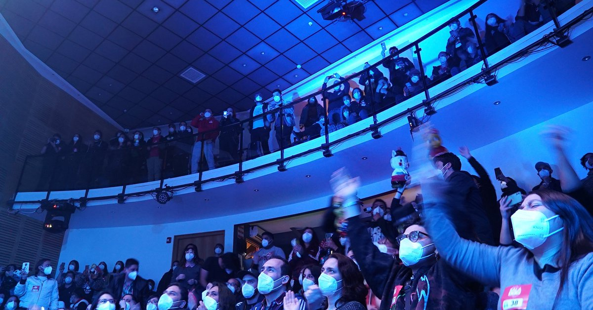 Chile held a concert as part of a clinical trial