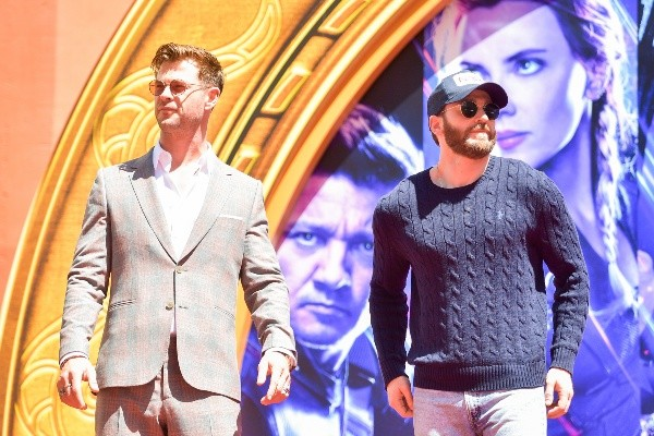 Chris Hemsworth replaced Chris Evans with another superhero