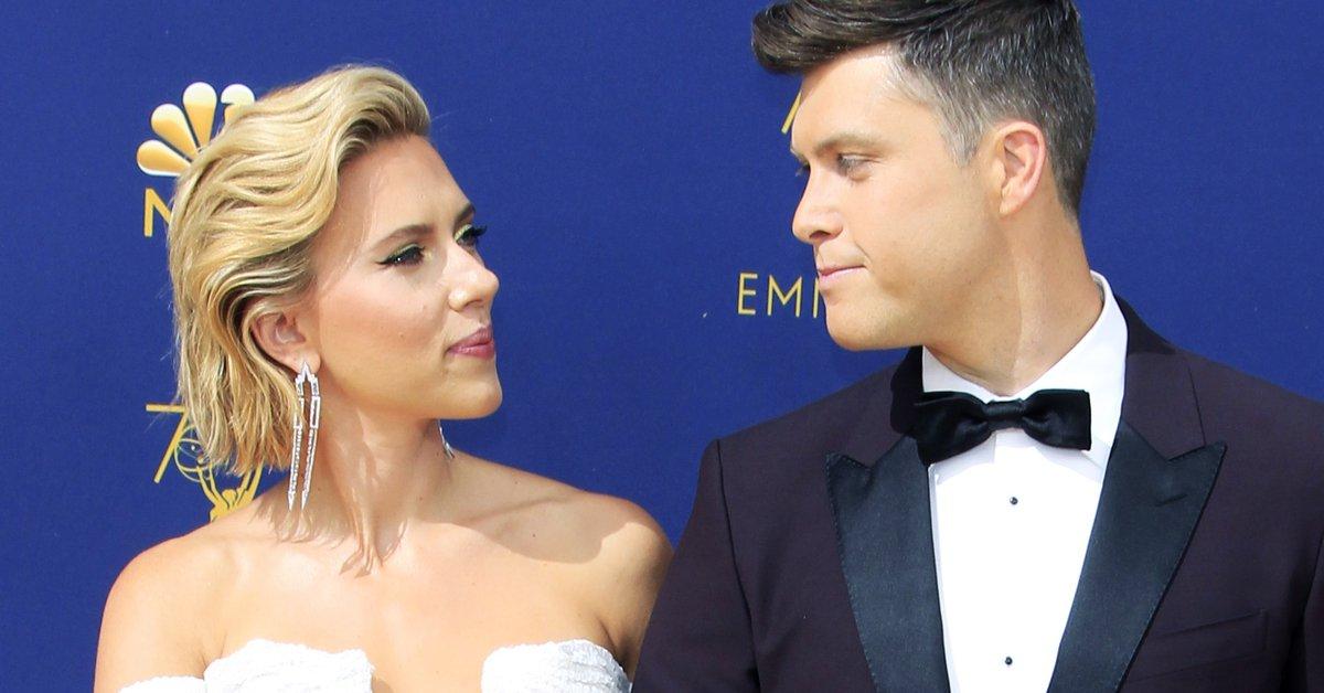 Colin Jost confirmed that Scarlett Johansson is pregnant