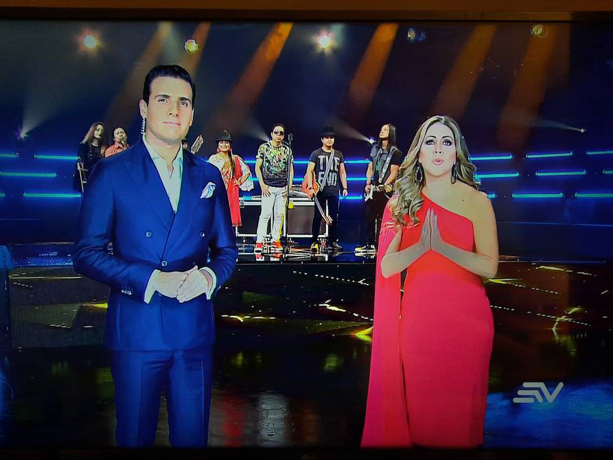 Concert 'Together for security' brought together singers and personalities in the Ecuavisa signal | Music | Entertainment