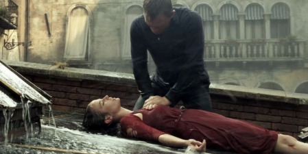 Agent 007 tries to revive the love of his life in 'Casino Royale'.
