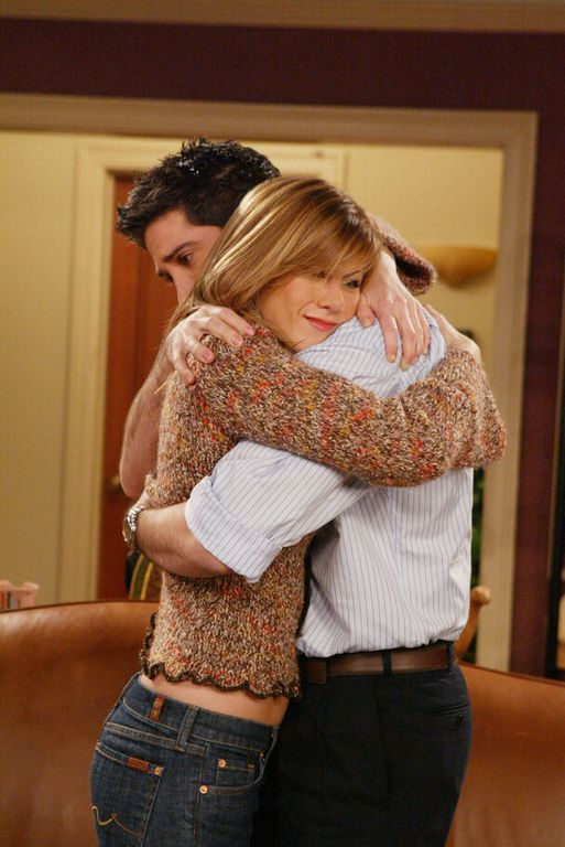 David Schwimmer and Jennifer Aniston as a couple A loved