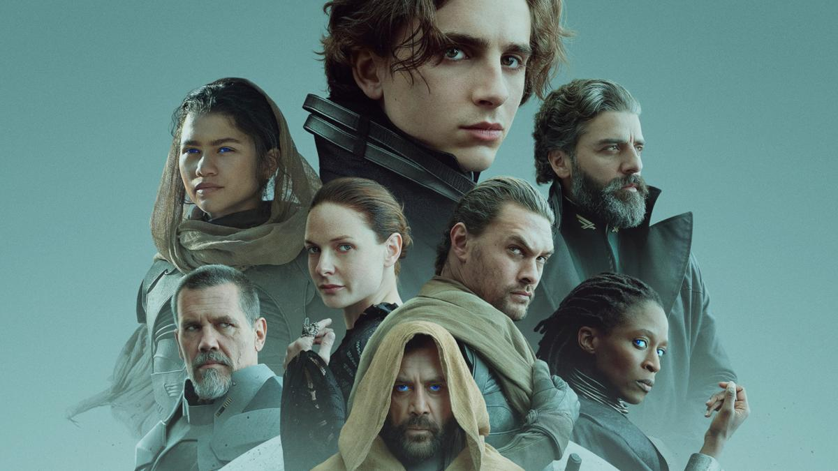 Definitive poster of Dune which hits Spanish theaters in September