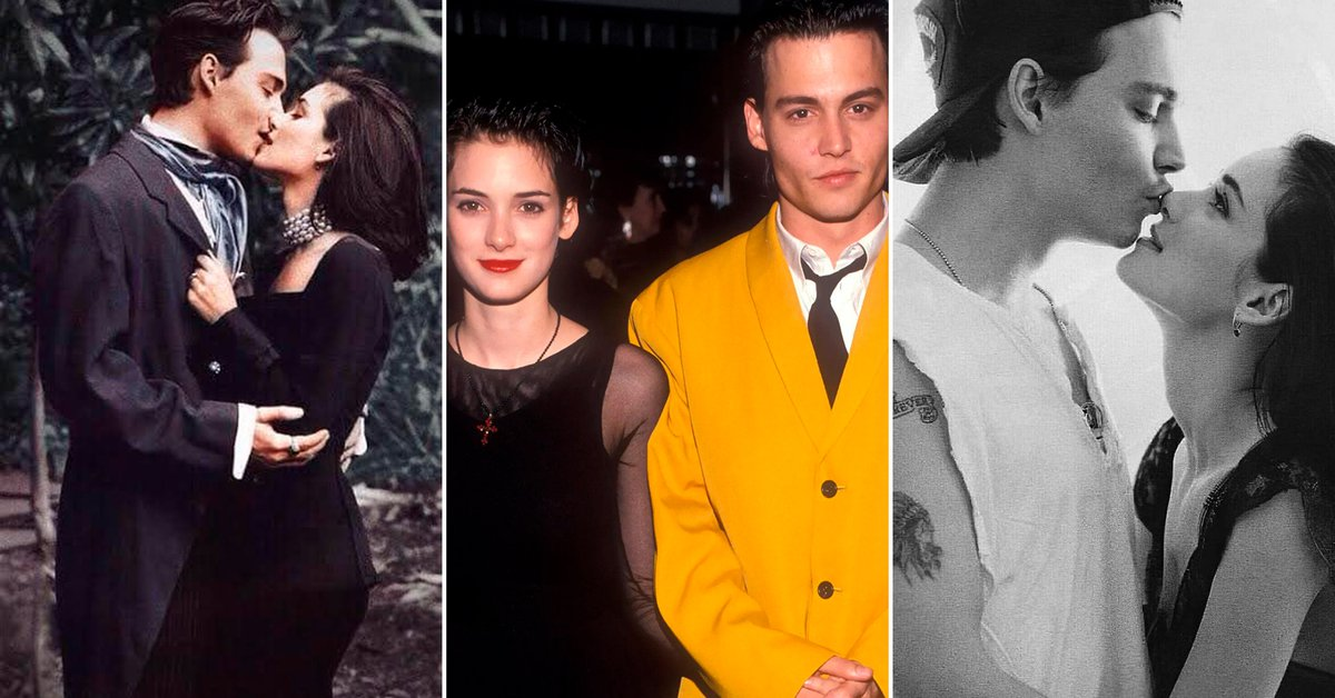 Excesses depression and mistakes Johnny Depp and Winona Ryders passionate