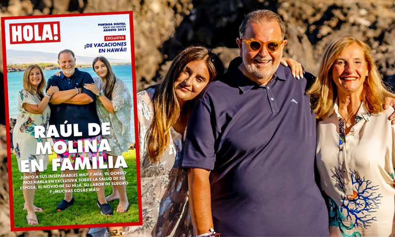 Exclusive: Raúl de Molina's Spectacular Hawaii Vacation with His Family