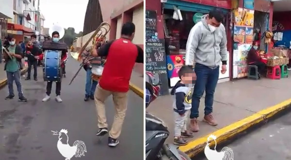 Facebook viral father asks street music group to play Bartolito