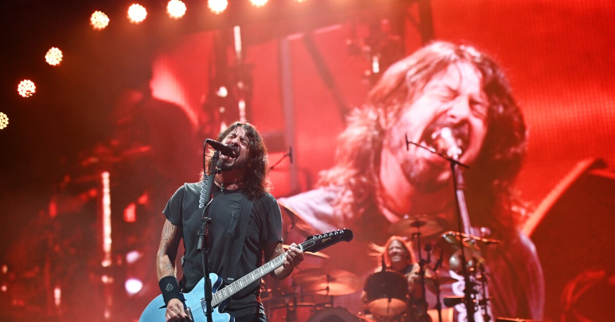 Foo Fighters trolled homophobic church members who protested outside their