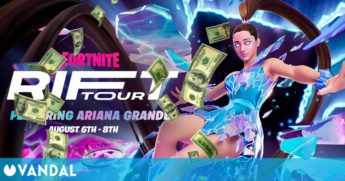 Fortnite: Ariana Grande could earn more than 20 million dollars with her concert